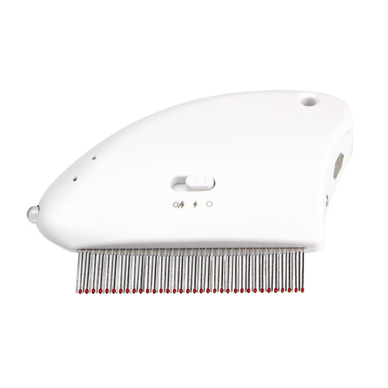 Multifunctional pet  comb electronic flea comb