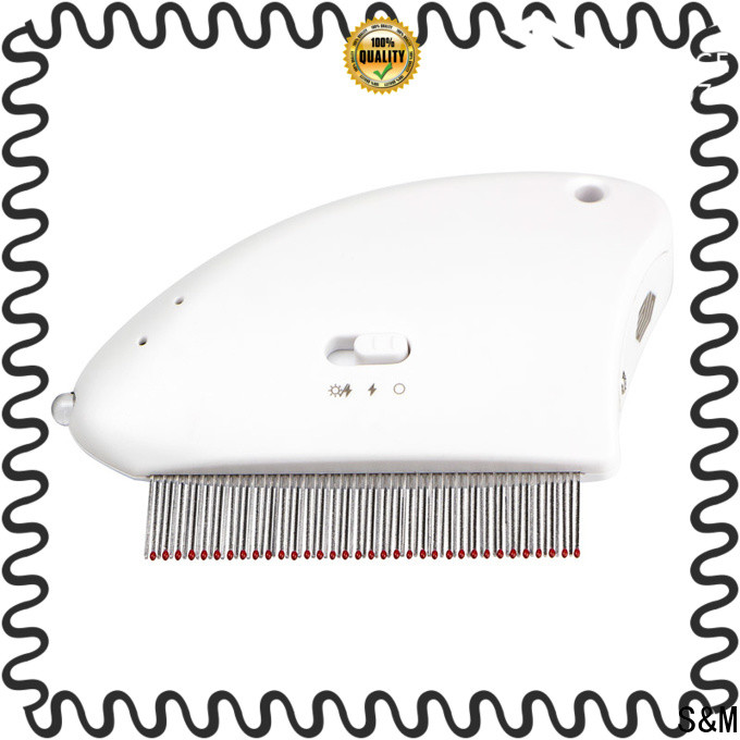 SM Professional electric shock flea comb OEM for cats