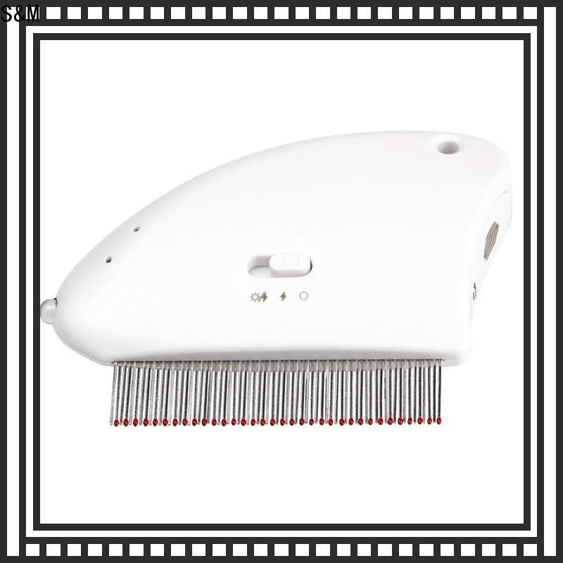 SM flea comb for pet customization for pets