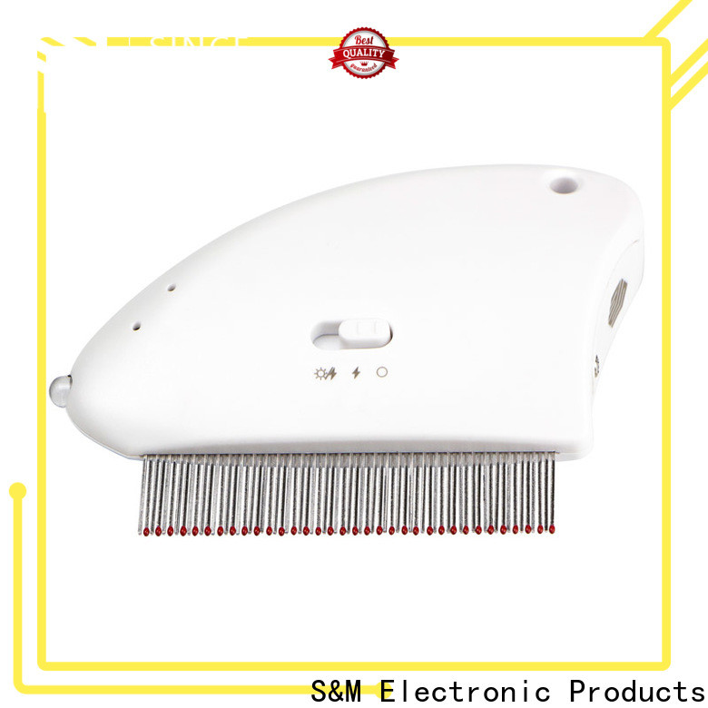 SM wide range of types flea doctor electric comb reviews OEM for cats